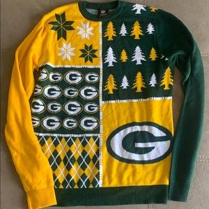 Green Bay Packers NFL Christmas apparel sweater